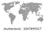continent atlas composition...   Shutterstock .eps vector #1047899317