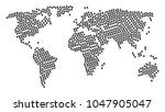 global world atlas pattern... | Shutterstock .eps vector #1047905047