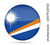 national flag of marshall... | Shutterstock .eps vector #1047916933