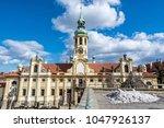 loreta is a pilgrimage... | Shutterstock . vector #1047926137