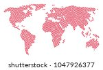 continent map composition...   Shutterstock .eps vector #1047926377