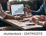 checking the numbers. close up... | Shutterstock . vector #1047942373