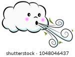 An Image Of A Cute Cloud...