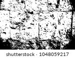 subtle stone wall surface.... | Shutterstock .eps vector #1048059217