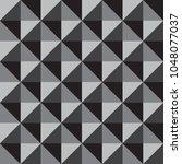 seamless square geometric... | Shutterstock .eps vector #1048077037