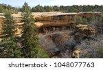 cliff dwelling  | Shutterstock . vector #1048077763