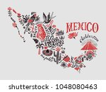 stylized illustrated map of...