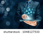 personal data protection ...   Shutterstock . vector #1048127533