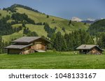 summer in alpe di siusi seiser... | Shutterstock . vector #1048133167
