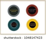 geometric shapes. banners ... | Shutterstock .eps vector #1048147423