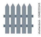 fence vector icon. | Shutterstock .eps vector #1048223143
