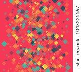 rhombus backdrop minimal... | Shutterstock .eps vector #1048225567