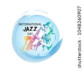 international jazz day poster   Shutterstock .eps vector #1048260907