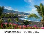 Playa Jardin Puerto De La Cruz...