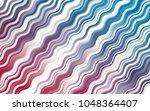light blue  red vector template ... | Shutterstock .eps vector #1048364407