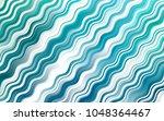light blue  green vector... | Shutterstock .eps vector #1048364467
