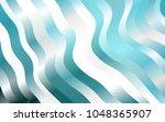 light blue vector pattern with... | Shutterstock .eps vector #1048365907