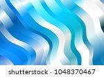 light blue vector pattern with... | Shutterstock .eps vector #1048370467