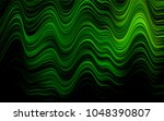 dark green vector template with ... | Shutterstock .eps vector #1048390807