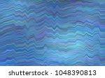 dark blue vector pattern with... | Shutterstock .eps vector #1048390813
