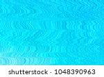 light blue vector pattern with... | Shutterstock .eps vector #1048390963