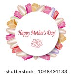 gift card  happy mother's day | Shutterstock .eps vector #1048434133