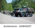 Army Truck In Military Parade