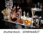 set of bar equipment and...   Shutterstock . vector #1048466827
