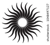 circular  radial abstract... | Shutterstock .eps vector #1048497127