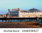 brighton pier  brighton and... | Shutterstock . vector #1048558427