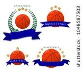graphic illustration logo game... | Shutterstock . vector #1048587503
