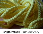 nylon rope  colorful yellow... | Shutterstock . vector #1048599977