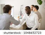 friendly african advisor... | Shutterstock . vector #1048652723