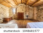 Rustic Bedroom In The Farmer's...