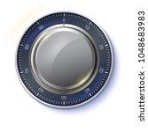 safe lock isolated on... | Shutterstock .eps vector #1048683983