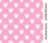 cute seamless vector pattern... | Shutterstock .eps vector #1048782563