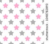 seamless cute vector pattern... | Shutterstock .eps vector #1048782893