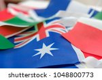 flags of all nations of the... | Shutterstock . vector #1048800773