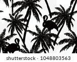 beautiful seamless vector... | Shutterstock .eps vector #1048803563