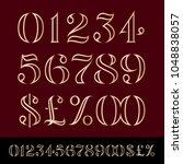 vector premium unique custom... | Shutterstock .eps vector #1048838057