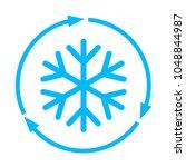 abstract freezing vector flat...   Shutterstock .eps vector #1048844987