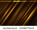 shining light gold surface... | Shutterstock .eps vector #1048879643