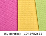multicolored rags for washing... | Shutterstock . vector #1048902683