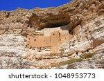 montezuma castle national... | Shutterstock . vector #1048953773