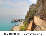 italy  monterosso shore | Shutterstock . vector #1048963943