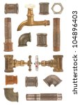 Used Water Pipes  Valves And...