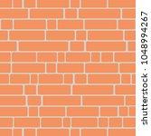 seamless texture of a brick... | Shutterstock .eps vector #1048994267