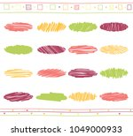 vector collection of retro... | Shutterstock .eps vector #1049000933