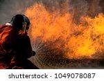 fire escape training ...   Shutterstock . vector #1049078087