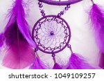 dream catcher with feathers... | Shutterstock . vector #1049109257